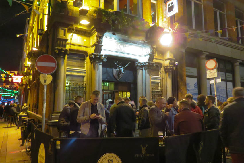 The Stag´s Head, pub Dublín